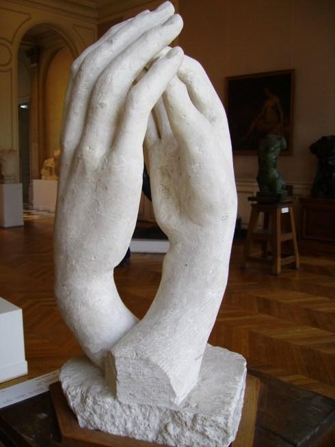 August Rodin, La catedral, 1910. Museo Rodin, París.